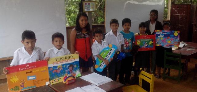 Donaciones para nuestra escuela. (VIDEO)